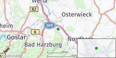 Google Map of Abbenrode bei Wernigerode