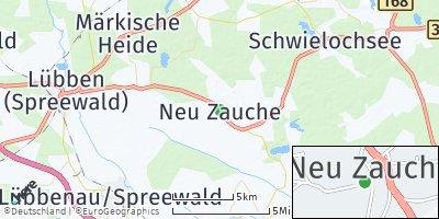 Google Map of Neu Zauche