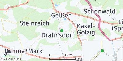 Google Map of Drahnsdorf