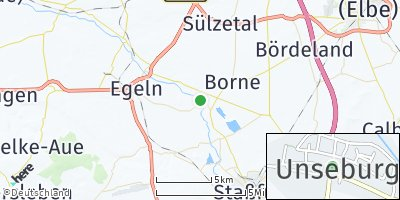 Google Map of Unseburg