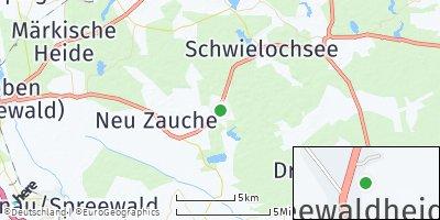 Google Map of Spreewaldheide
