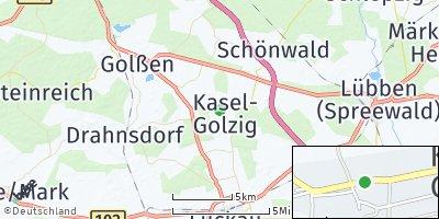 Google Map of Kasel-Golzig