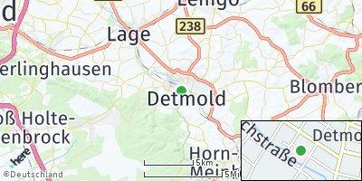 Google Map of Detmold
