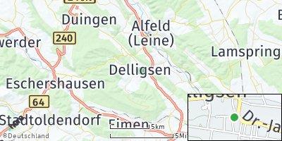 Google Map of Delligsen