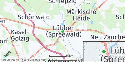 Google Map of Lübben