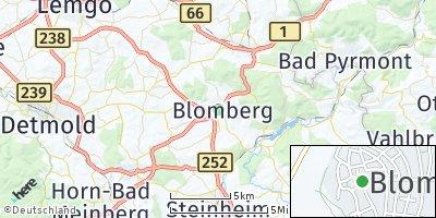 Google Map of Blomberg