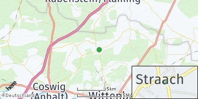 Google Map of Straach