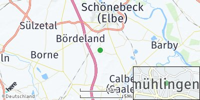 Google Map of Großmühlingen