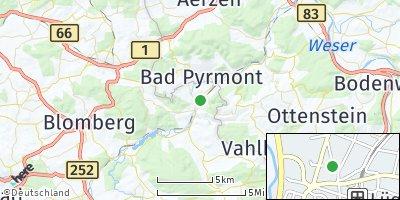 Google Map of Lügde
