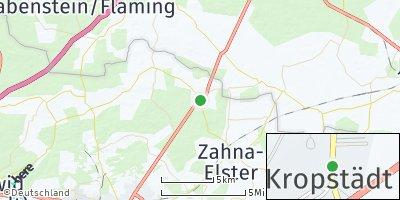 Google Map of Kropstädt