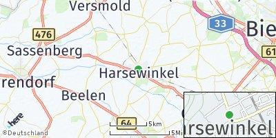 Google Map of Harsewinkel