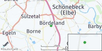 Google Map of Bördeland