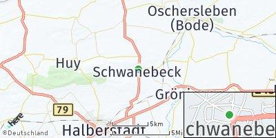 Google Map of Schwanebeck