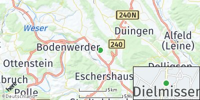 Google Map of Dielmissen