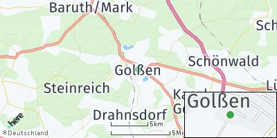 Google Map of Golßen