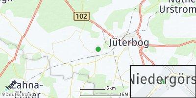 Google Map of Niedergörsdorf