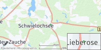 Google Map of Lieberose