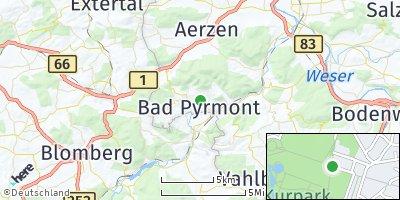 Google Map of Bad Pyrmont