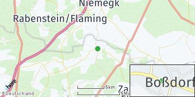 Google Map of Boßdorf