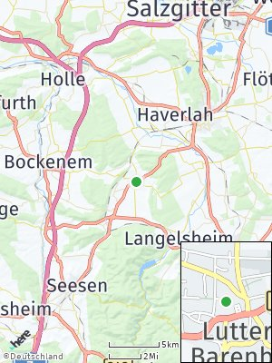 Here Map of Lutter am Barenberge