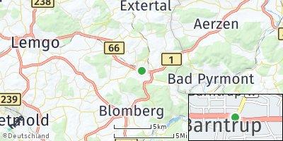 Google Map of Barntrup