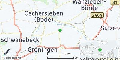 Google Map of Hadmersleben