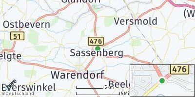 Google Map of Sassenberg