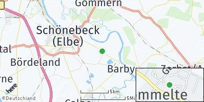 Google Map of Pömmelte