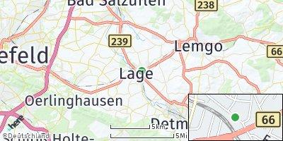 Google Map of Lage