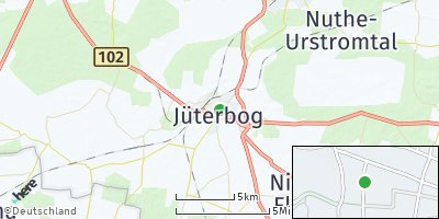 Google Map of Jüterbog