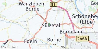 Google Map of Sülzetal