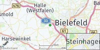Google Map of Steinhagen