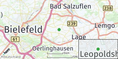 Google Map of Leopoldshöhe