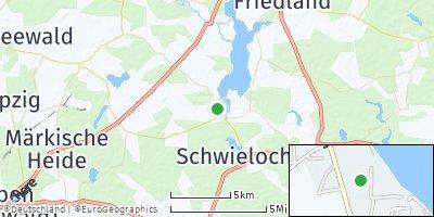 Google Map of Schwielochsee