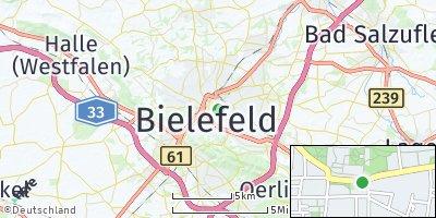 Google Map of Bielefeld