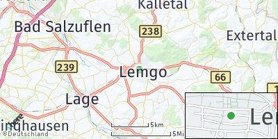Google Map of Lemgo