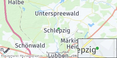 Google Map of Schlepzig