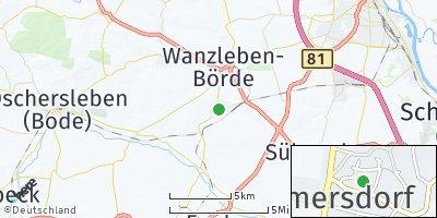 Google Map of Bottmersdorf