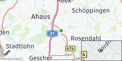 Google Map of Legden