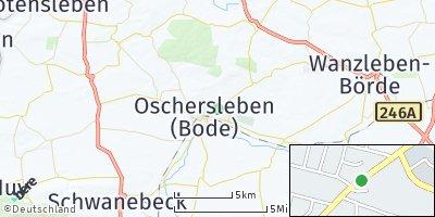 Google Map of Oschersleben