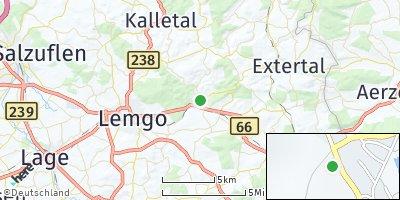 Google Map of Dörentrup