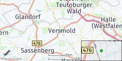 Google Map of Versmold