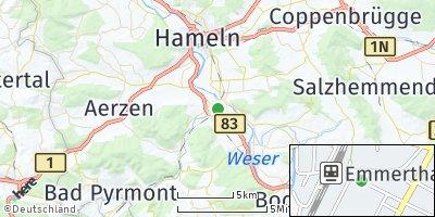 Google Map of Emmerthal