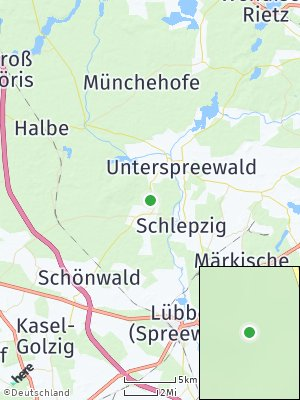 Here Map of Krausnick-Groß Wasserburg