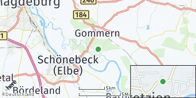 Google Map of Pretzien