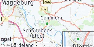 Google Map of Plötzky