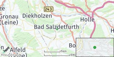Google Map of Bad Salzdetfurth