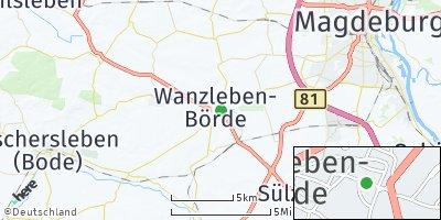 Google Map of Wanzleben