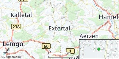 Google Map of Extertal