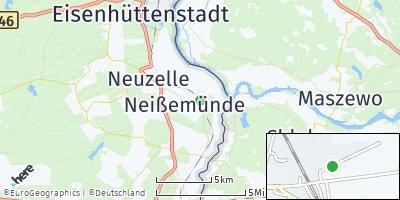 Google Map of Neißemünde